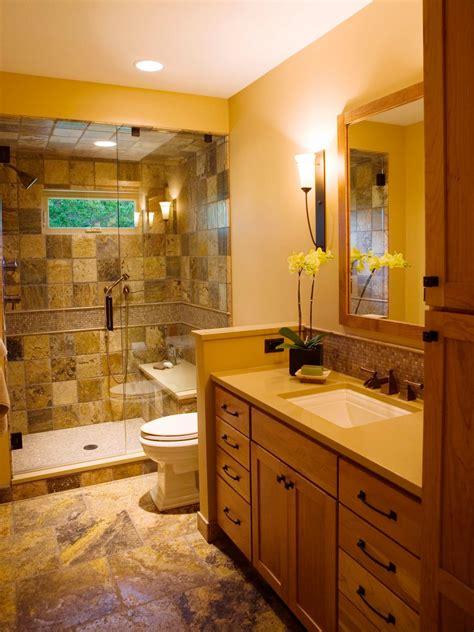 Narrow Bathroom Layouts | HGTV