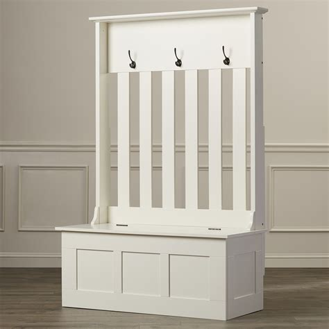 Narrow Hallway Storage Bench For Small Image Of With Seat ...