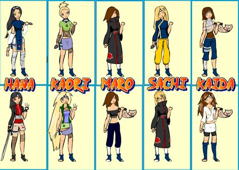 Naruto Characters Girl Names | www.imgkid.com - The Image ...