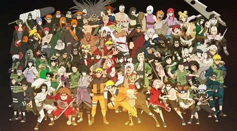 Naruto Characters Wallpapers - Wallpaper Cave