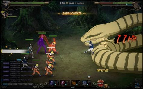 NARUTO ONLINE MMORPG » Juego GRATIS en jugarmania.com