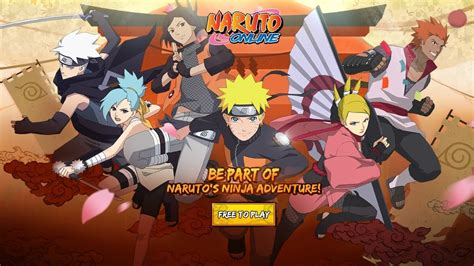 NARUTO ONLINE - Single Player Preview | MMO Game (Oasis ...