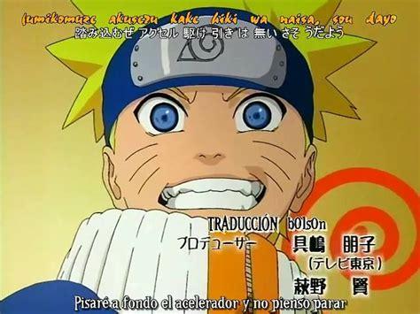Naruto Opening 2 Sub Español