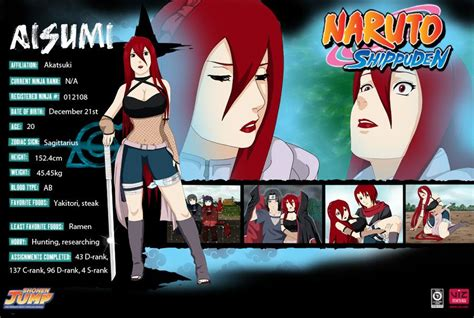 Naruto Shippuden Character Profiles | naruto | Pinterest ...