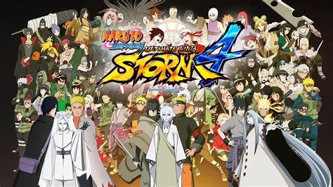 Naruto Shippuden Ultimate Ninja Storm 4 All Characters ...