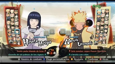 Naruto Shippuden Ultimate Ninja Storm 4 todos los ...