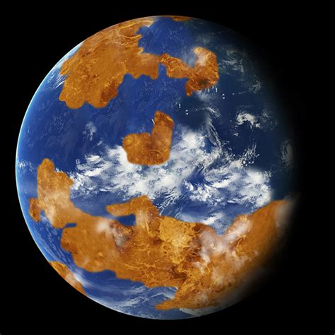 NASA Scientists Suggest Planet Venus May Have Once Had ...