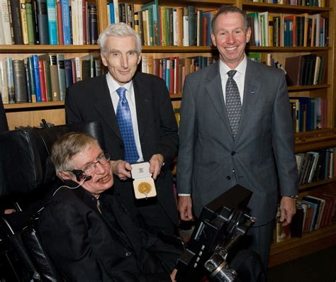 NASA - Stephen Hawking Receives Medal Flown on Space Shuttle