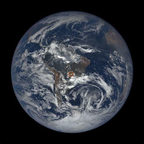 NASA's EPIC View Spots Flashes on Earth | NASA