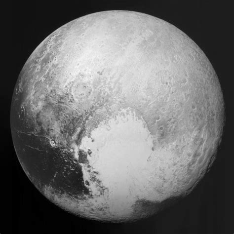 NASA's New Horizons Probe Glimpses Pluto's Icy Heart   The ...