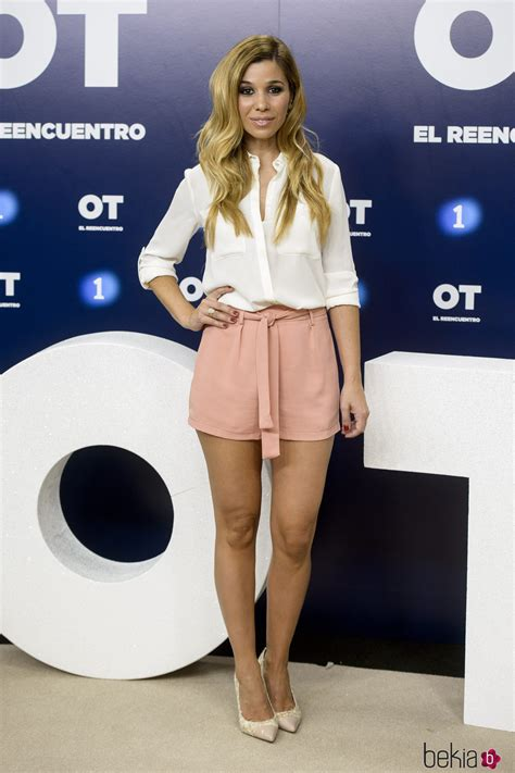 Natalia en la presentación de 'OT. El reencuentro ...
