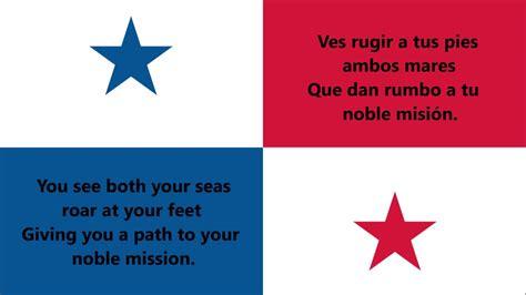 National anthem of Panama - Himno nacional de Panamá (ES ...