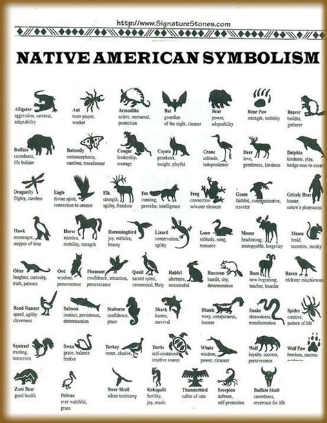 Native American Animal Symbols and Their Meanings | Native ...