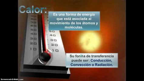 Naturales, Calor y Temperatura - Diferencias - YouTube