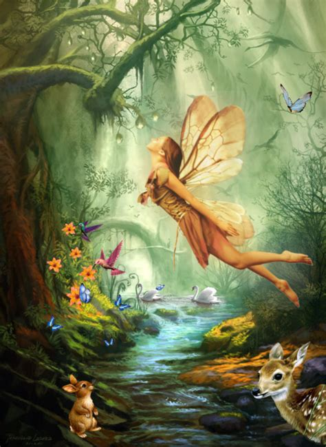 Nature s Fairy Nymphs ≍ magical elves, sprites, pixies and ...