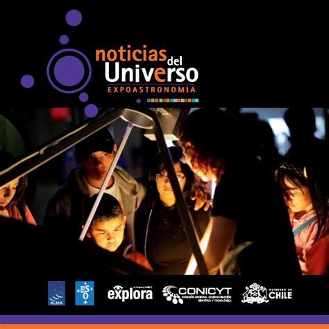 """Navega por la exhibición """"Noticias del Universo"""" a ..."""