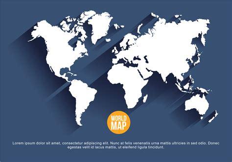 Navy Blue Mapa Mundi Vector Illustration - Download Free ...