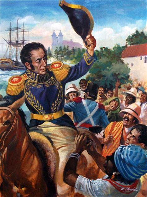 Nazioni: Bolivia   Venezuela, El libertador y Historia