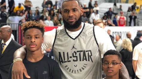 NBA LeBron James Jr terrifies America all over again