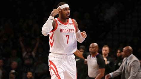 NBA rumors: Carmelo Anthony, Rockets discussing his role ...