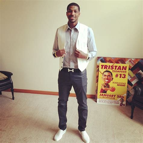 NBA Style: Tristan Thompson s Hermes  H  Belt & Christian ...