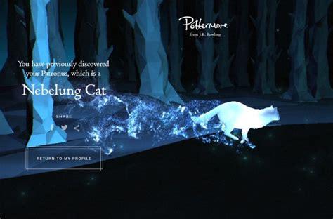 Nebelung Cat Pottermore Patronus | Potterhead | Pinterest ...