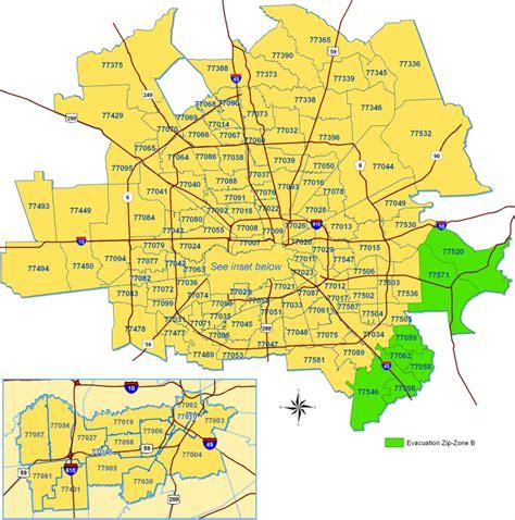 Need zip code map please  Houston: zip codes, best, map of ...