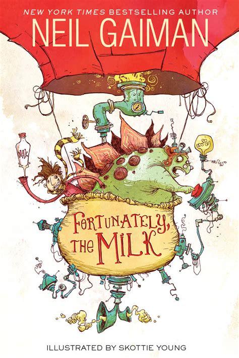 Neil Gaiman Unveils His Next Book Cover, By Skottie Young