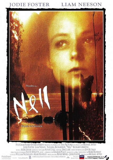 Nell Movie Poster (#4 of 4) - IMP Awards