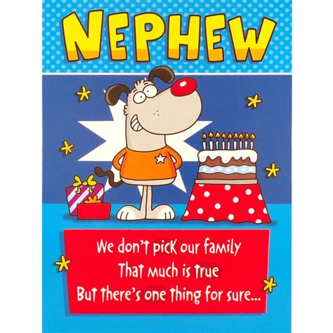 NEPHEW BIRTHDAY Card FUNNY Rude Humorous Greetings Card | eBay