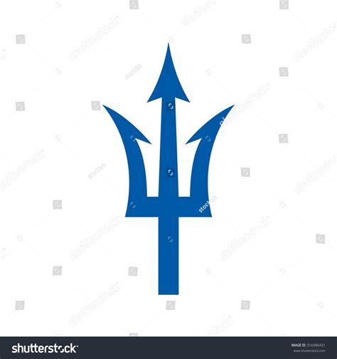 Neptune Trident Logo Stock Vector 316986431   Shutterstock