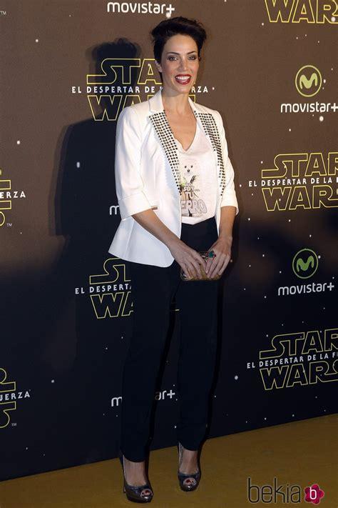 Nerea Garmendia en el estreno de  Star Wars: El Despertar ...