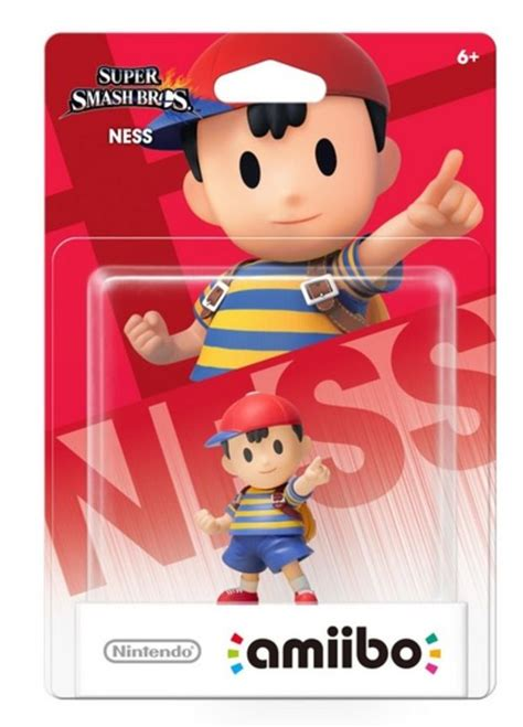Ness amiibo confirmed to be a GameStop exclusive