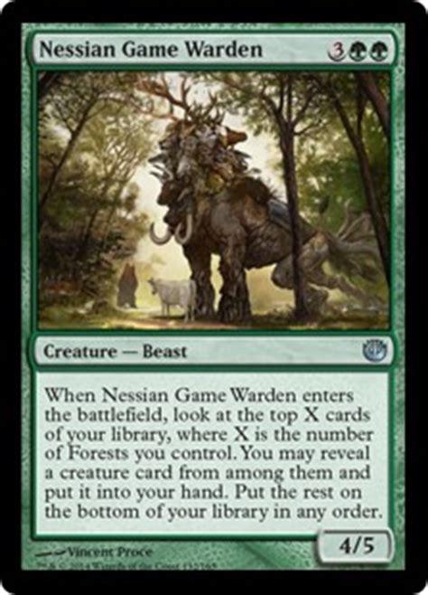 Nessian Game Warden   Creature   Cards   MTG Salvation