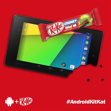 Nestle outs October for Android 4.4 Kit Kat release ...