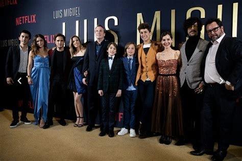 Netflix celebra la premiere de Luis Miguel La Serie ...