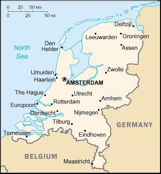 Netherlands Carte