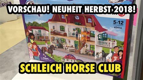 NEU: Das Haus vom Schleich Horse Club   Fotovorschau aus ...