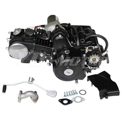 New 125CC Engine Fully Auto w/Reverse Motor for 70cc 90cc ...