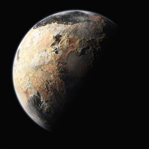 New artist s renderings of Pluto