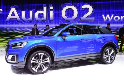New Audi Q2 official and exclusive studio shoot - pictures ...