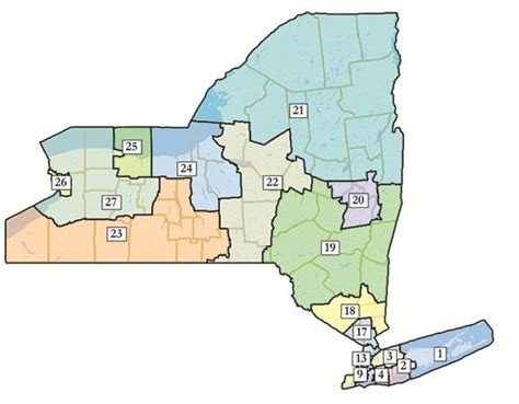 New Congressional districts approved in New York | WBFO