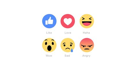 New Facebook Emoticons Vector Pack Free Download | The ...