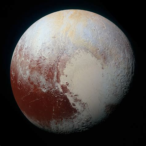 New Horizons Returns First Ever Photo of Pluto's Surface ...