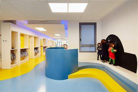 New learning spaces design, (MOPI) Casp Jesuits School « F2M