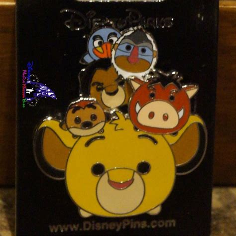 New Lion King Tsum Tsum Pin released at Hong Kong ...