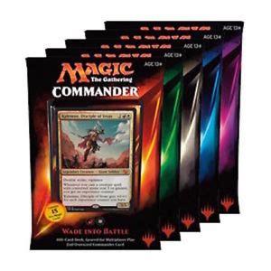 New Magic Commander Decks 2015 | Autos Post