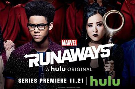 New Marvel s Runaways Banner for the Hulu Series