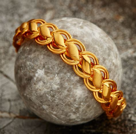 New Mens Bracelet Designs In Gold - The Latest and Most ...