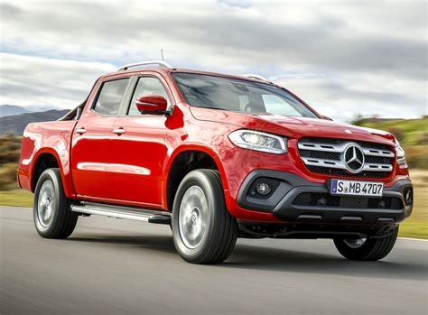 New Mercedes Benz X Class Pickup launched   The Avondhu ...